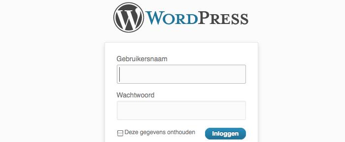 Wordpress login afbeelding veranderen