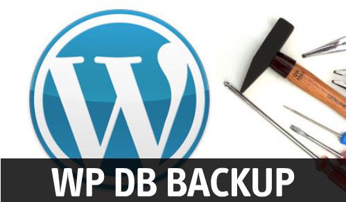 Wordpress database backup plugin