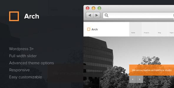 Arch Wordpress thema