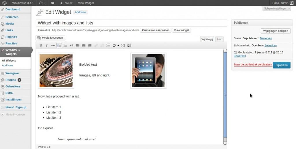 wysiwyg widget2