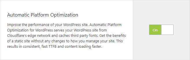 Automatic Platform Optimization