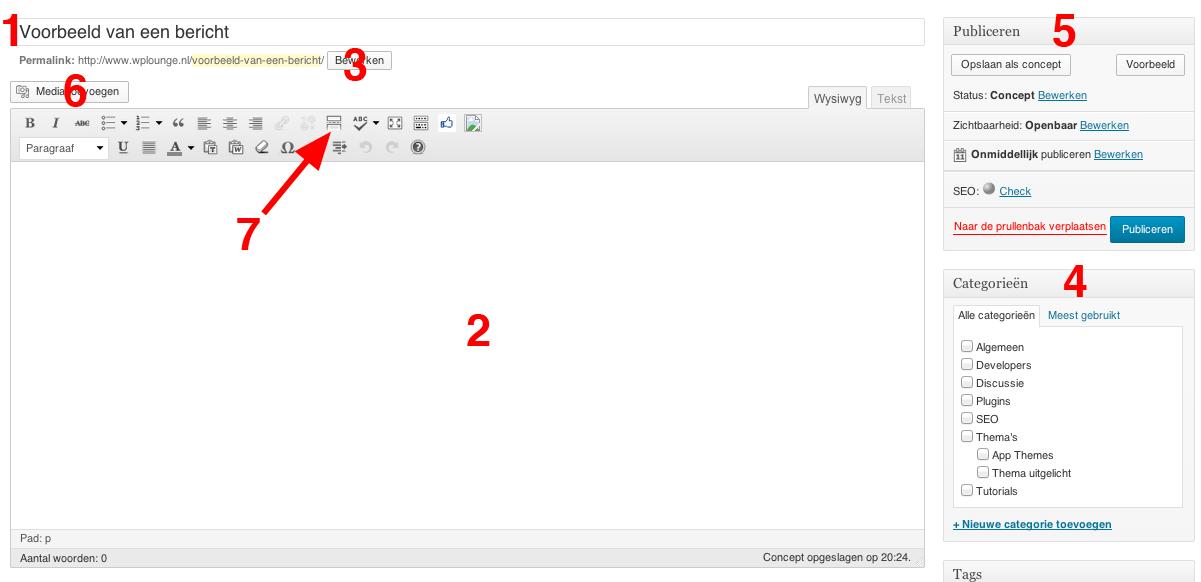 Hoe schrijf je een bericht wordpress lounge - Hoe sluit je een pergola ...