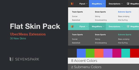 Flat Skin Pack