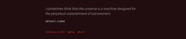 Quote in twenty Thirteen