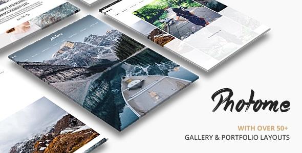 PhotoMe: Full-Screen WordPress theme voor beelden
