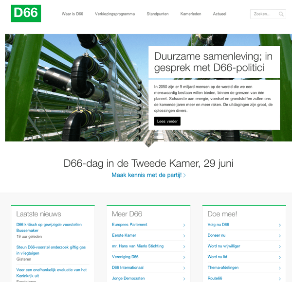D66-WordPress