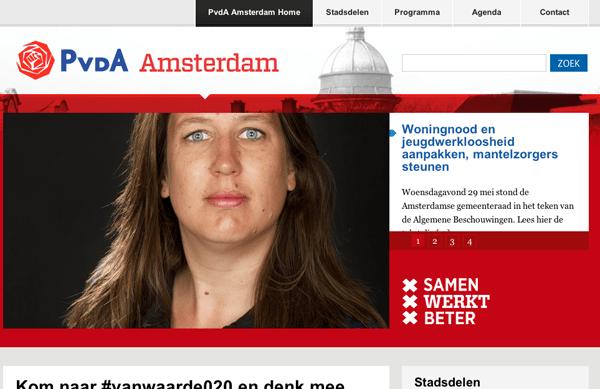PvdA-Amsterdam-WordPress