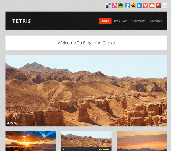 gratis responsive wordpress theme