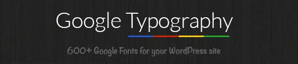 googletypography plugin