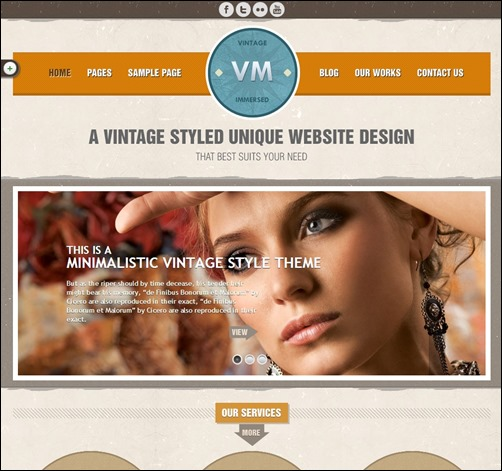 Vintage-Immersed-vintage-wordpress-theme