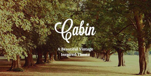 Cabin theme template