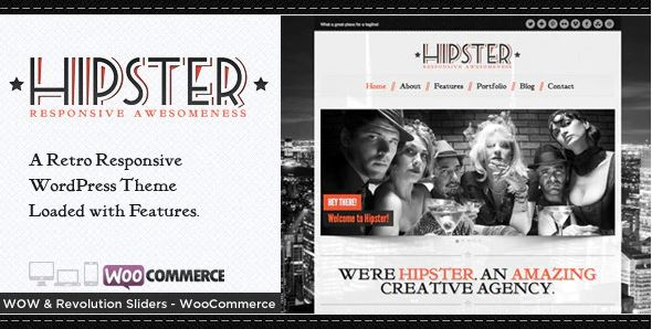 Hipster theme
