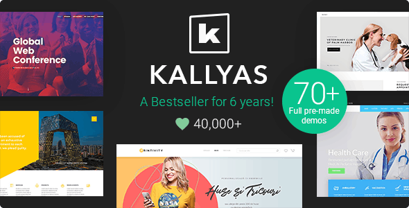 Kallyas WordPress Theme Preview