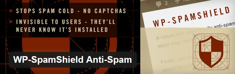 WP SpamShield Anti-Spam Plugin voor WordPress