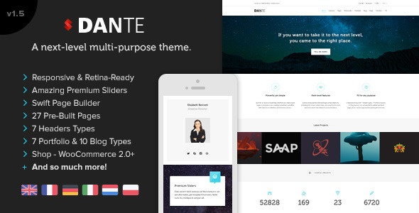 Dante WordPress Thema