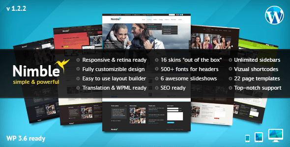 Nimble WordPress Thema