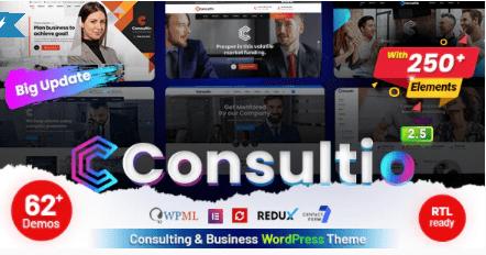 Consultio theme template