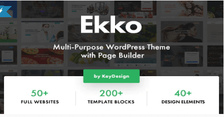 Ekko theme template