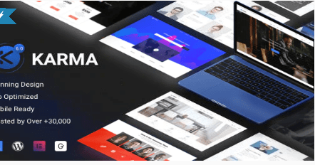 Karma theme template