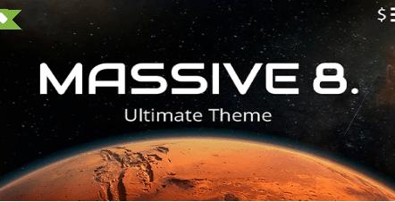 Massive Dynamic theme template
