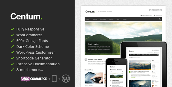 Centum WordPress Thema