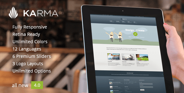 Karma WordPress Thema