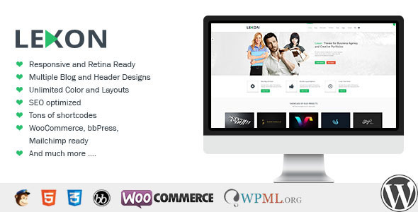 Lexon WordPress Thema