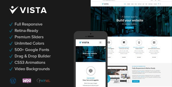 Vista WordPress Thema