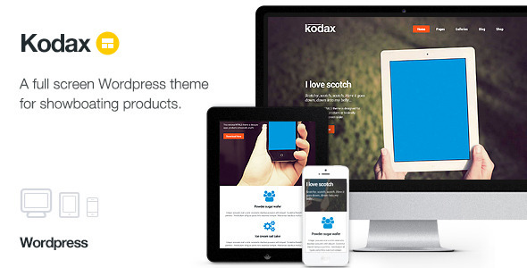 Kodax Landing Page