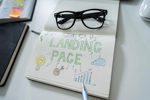Landing page photo