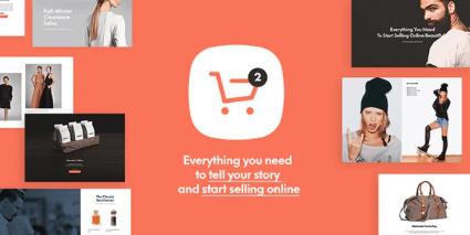 Shopkeeper thema template