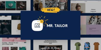 Mr. Tailor theme template
