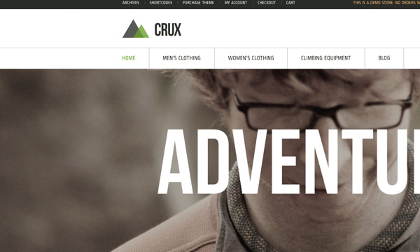 Crux, thema voor WooCommerce