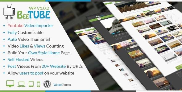 BeeTube WordPress