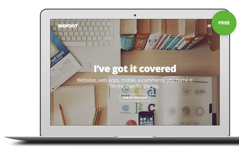 BigFoot Gratis WordPress Theme