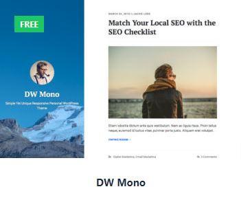 Designwall gratis thema