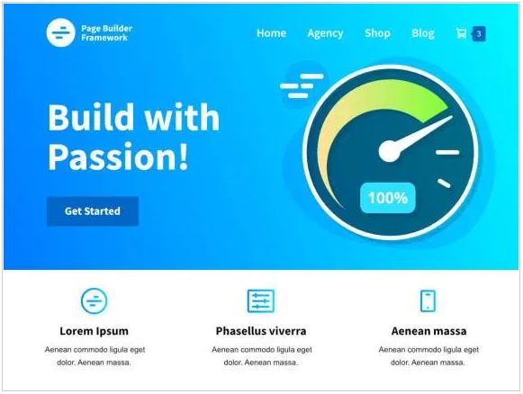 thema page builder framework