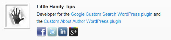 Custom About Author