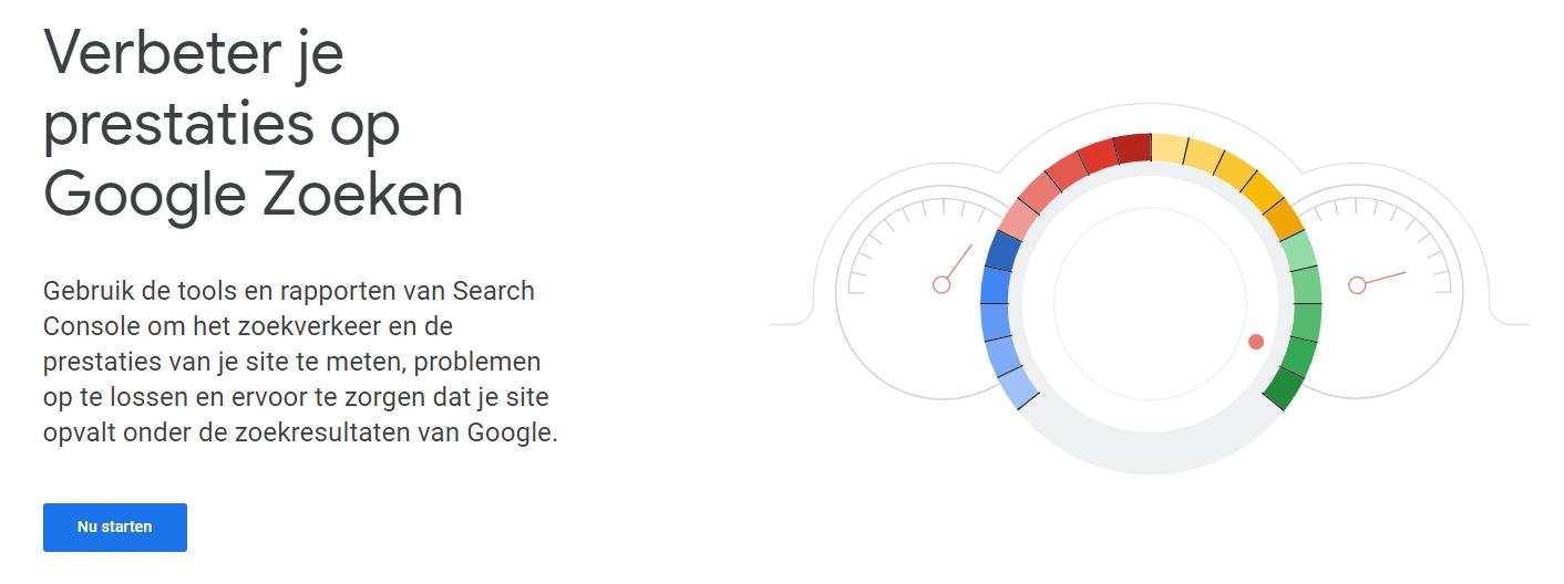Google Search Console koppelen