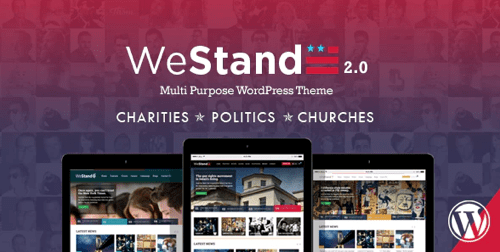 WeStand theme template