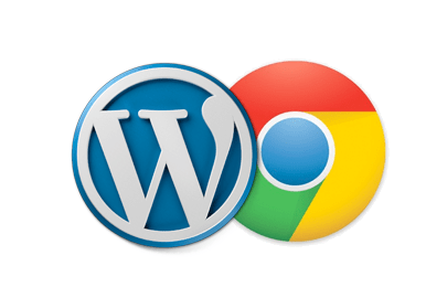 WordPress Google Chrome