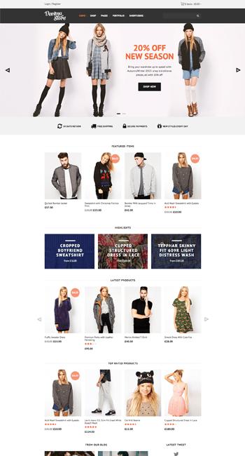 Decima eCommerce theme