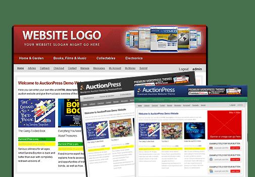 AuctionPress veiling website WordPress