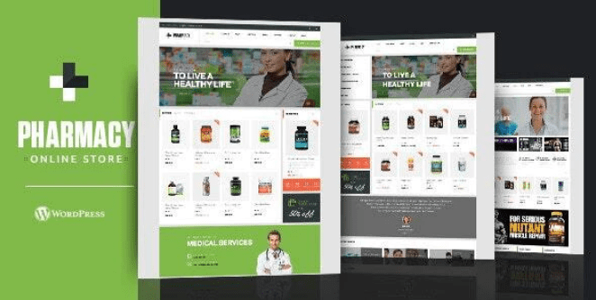 Pharmacy theme template