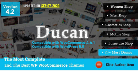 Ducan theme template