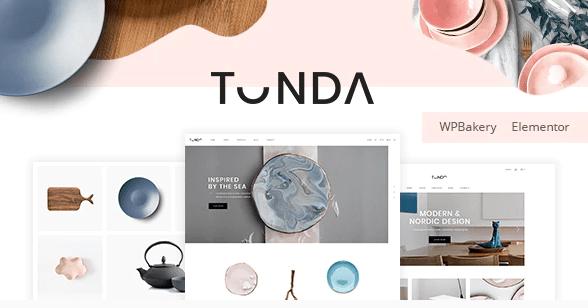 Tonda theme template