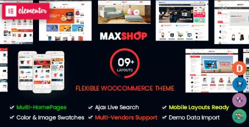 MaxShop theme template