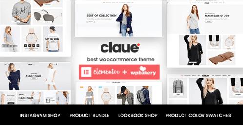 Claue theme template