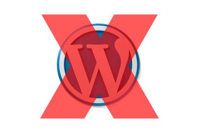 WordPress deïnstalleren