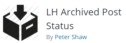 LH Archived post status
